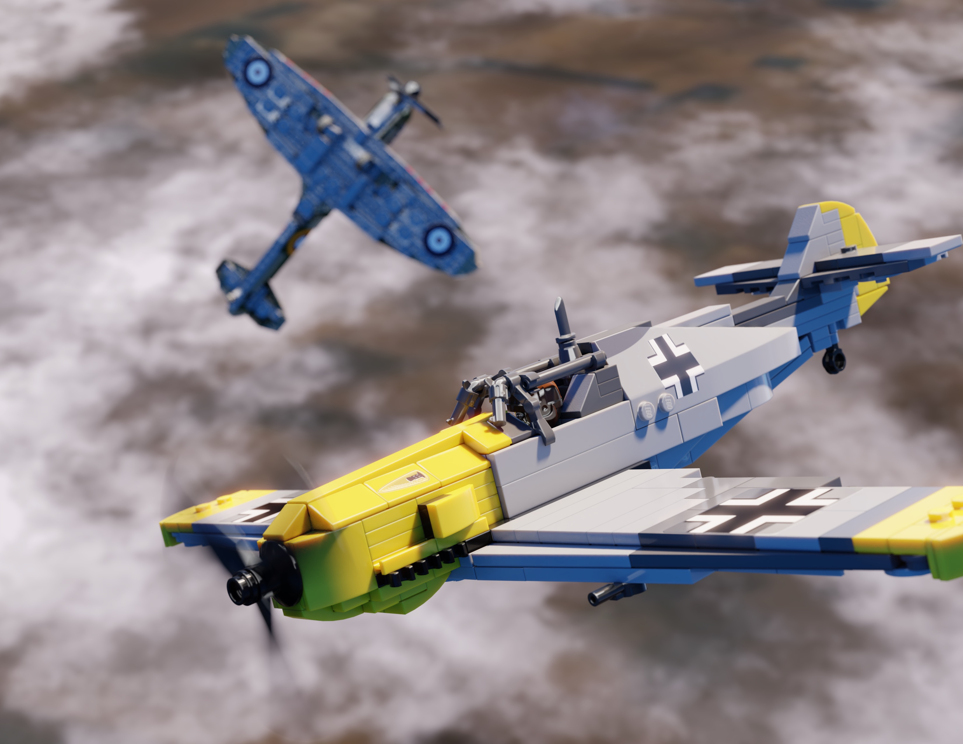 Bf-109E WWII Fighter