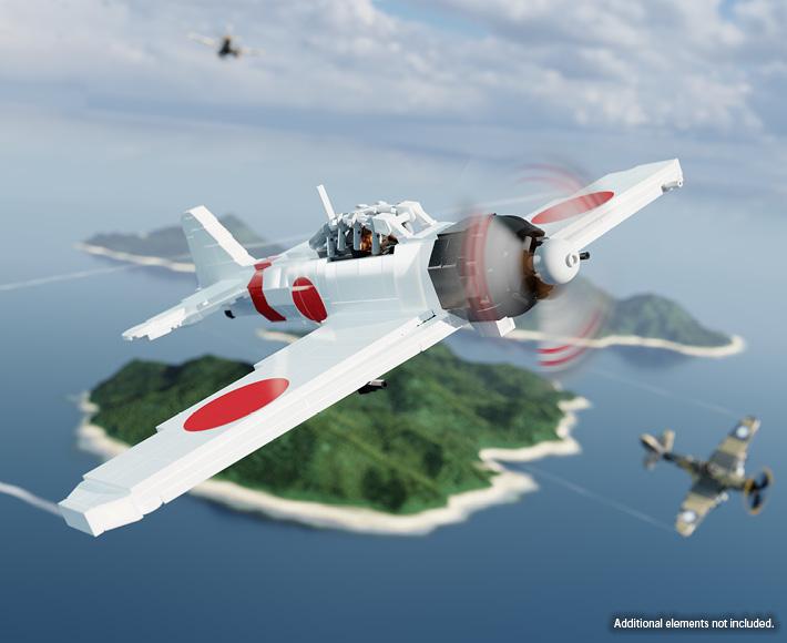 A6M2 Zero – WWII Fighter