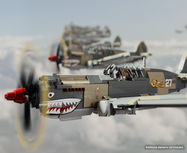P-40B Warhawk – WWII Fighter