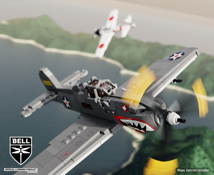 P-39 Airacobra® – WWII Allied Fighter Aircraft