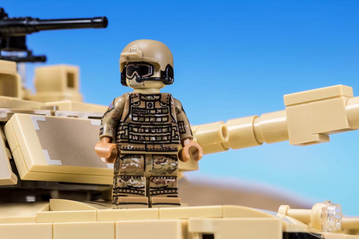 Modern Us Tanker Brickmania Toys