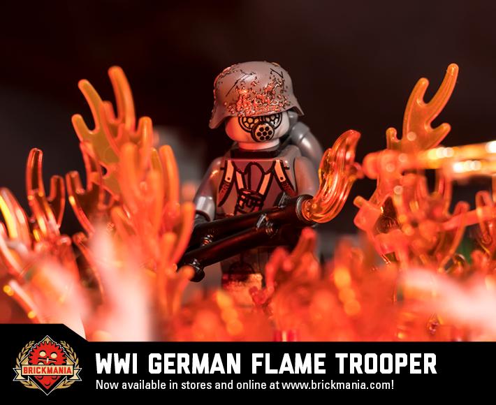 WWI German Flame Trooper