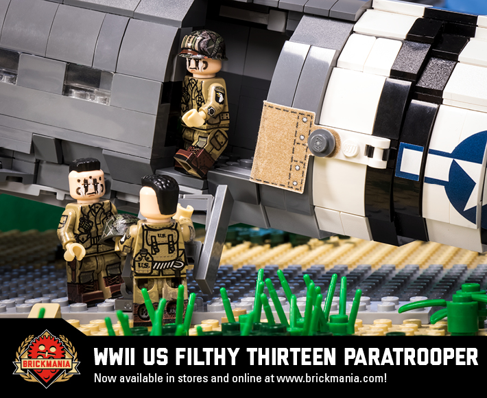 WWII US Filthy Thirteen Paratrooper
