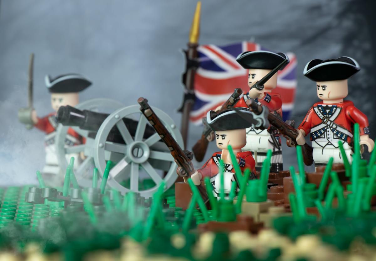 Revolutionary War British Redcoat