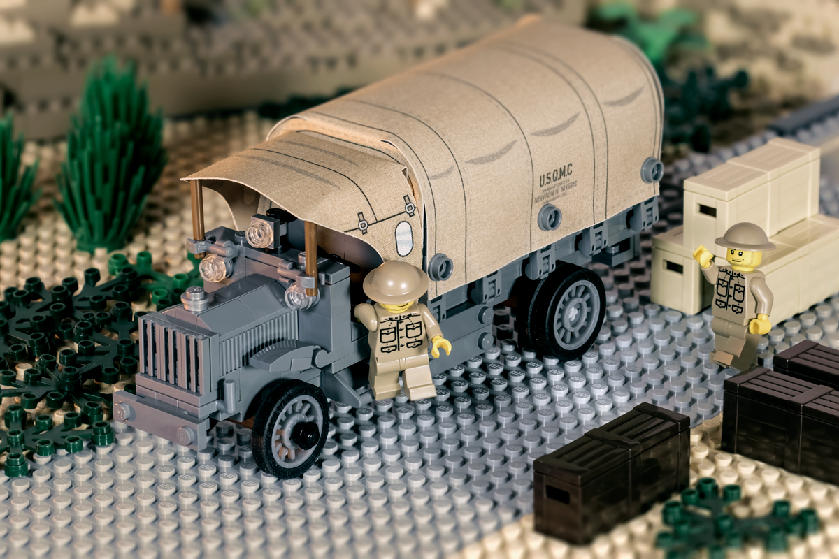 WWI Liberty Truck Canvas & Wheel Add-On Pack