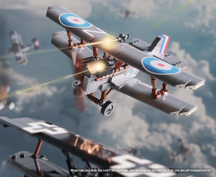 S.E.5a - World War I Fighter Aircraft (SN C-1904)