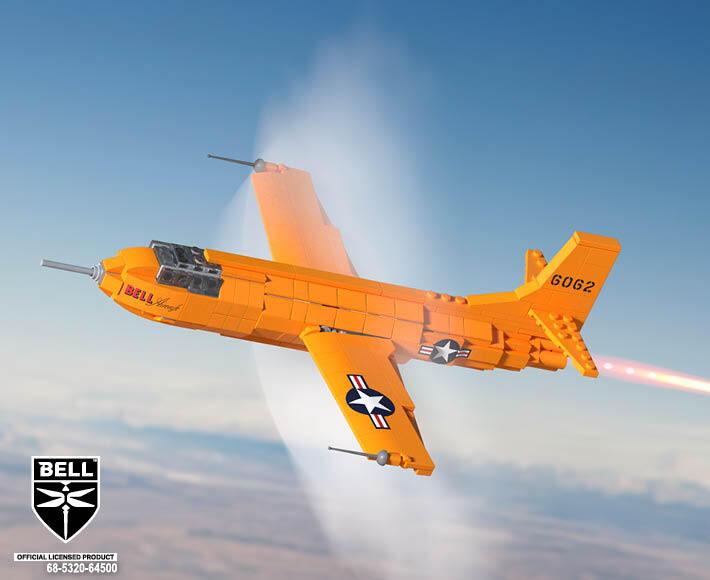 Bell® X-1 Mach Buster® - Rocket Plane
