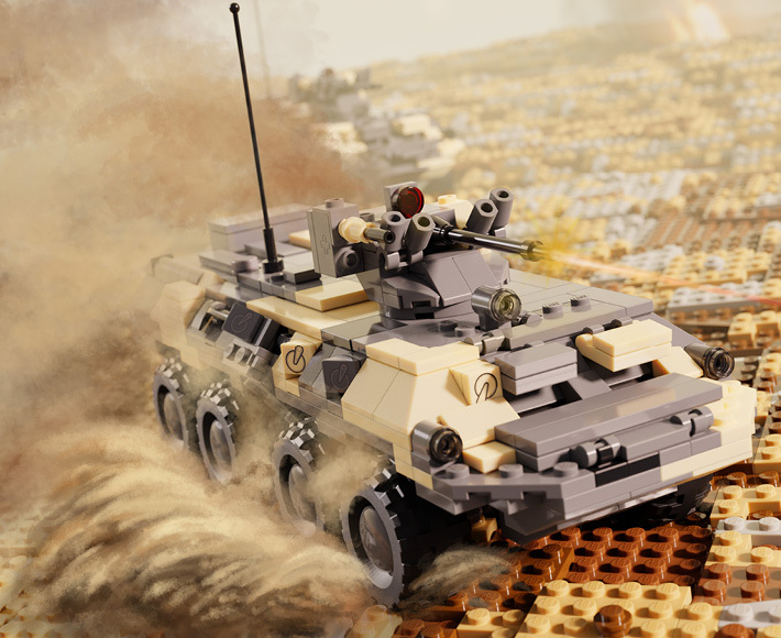 BTR-82A - Armored Personnel Carrier