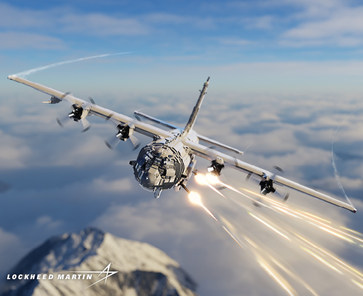 AC-130® (SPOOKY II) - Close Air Support Gunship