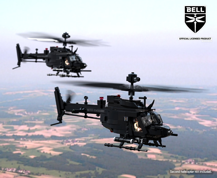 Bell® OH-58D™ Kiowa Warrior - Light Armed Reconnaissance Helicopter