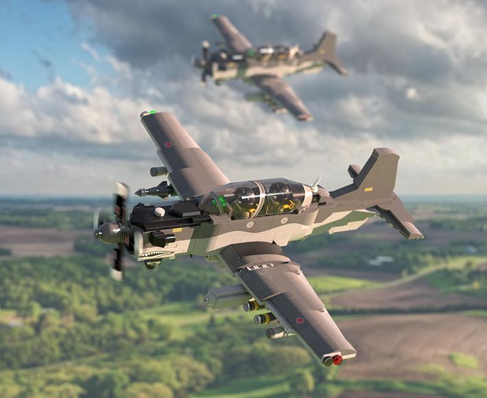 Beechcraft® AT-6E Wolverine - Light Attack Aircraft
