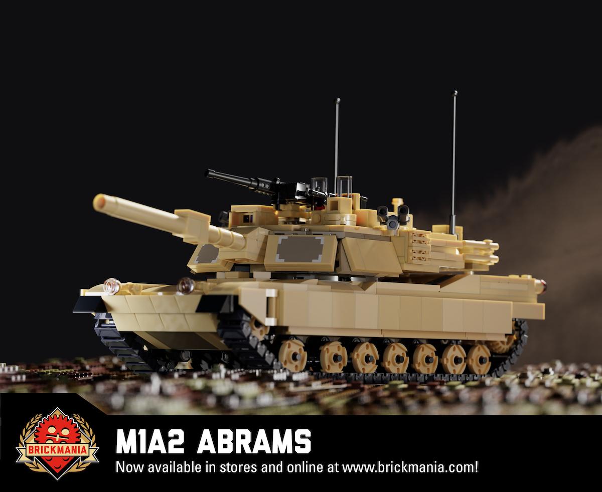 M1A2艾布拉姆斯-主战坦克(2019)