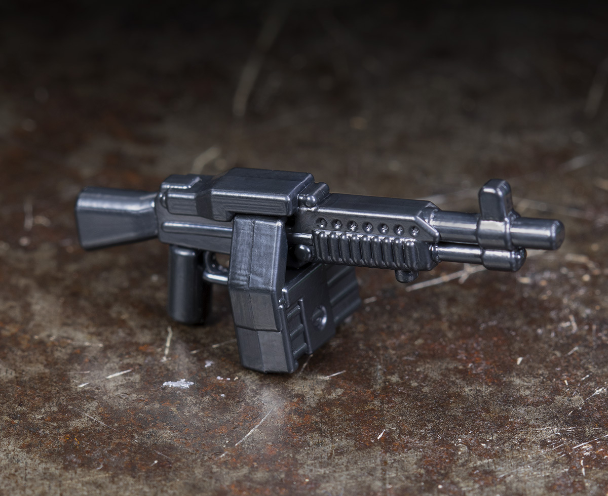 Proto BrickArms® Stoner Mk63 + Ammo Can