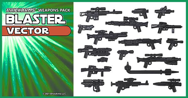 BrickArms® Blaster Pack - Vector