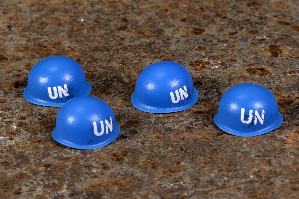 BrickArms Steel Pot UN Helmet