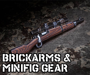 BrickArms and Minifig Gear