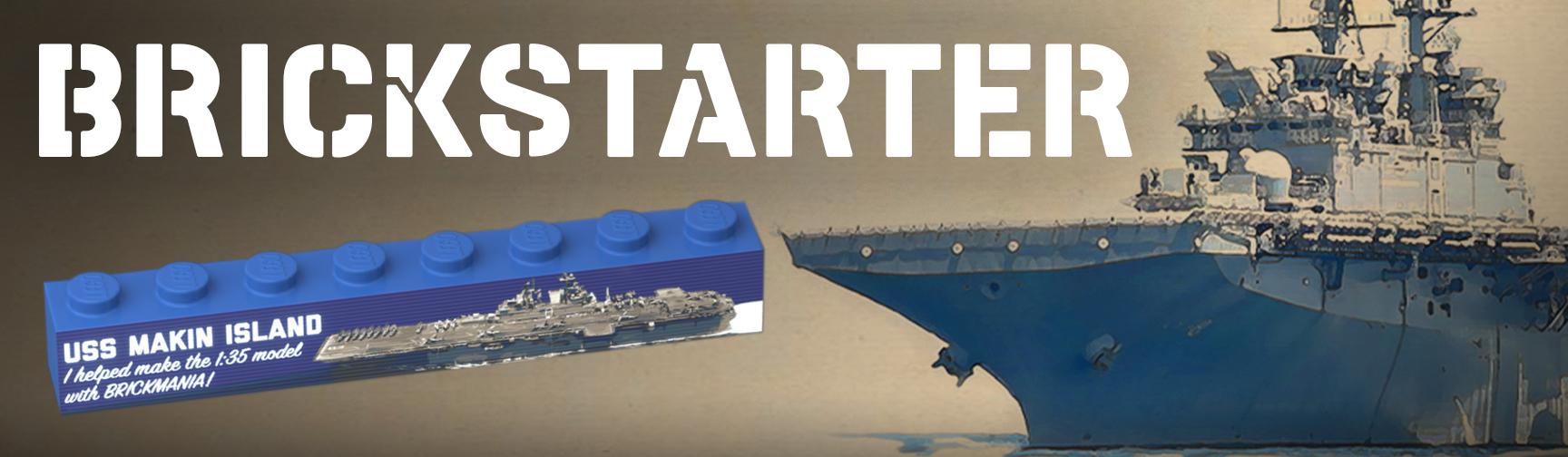 USS Makin Island BrickStarter