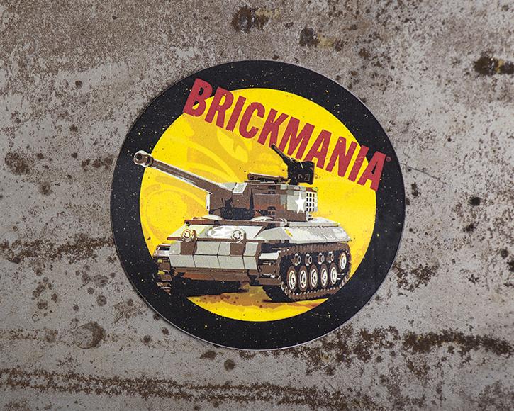 Brickmania November Hellcat - Sticker of the Month