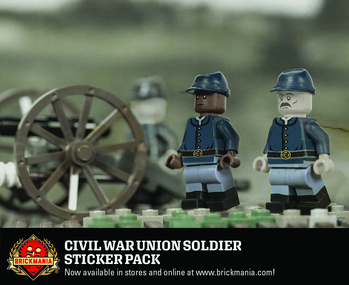Civil War Union Solider Sticker Pack