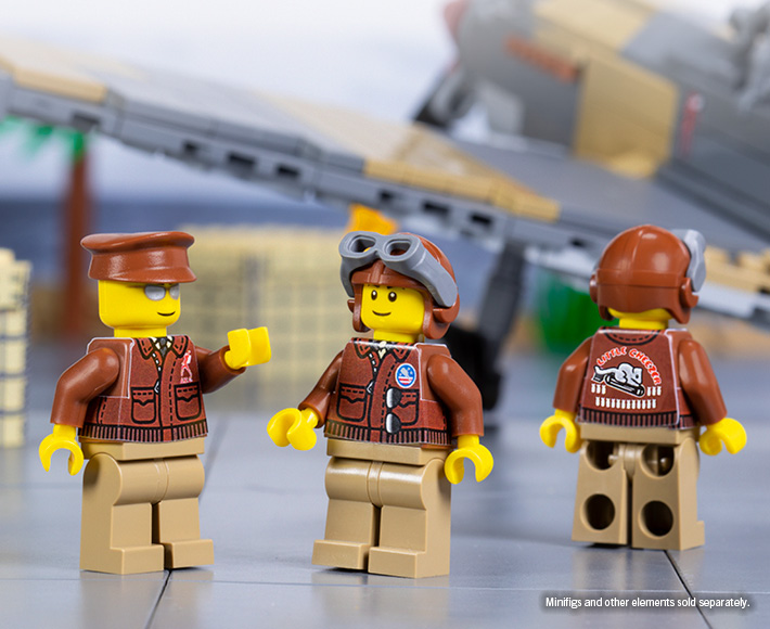 WWII US Pilot Jackets - Sticker Pack