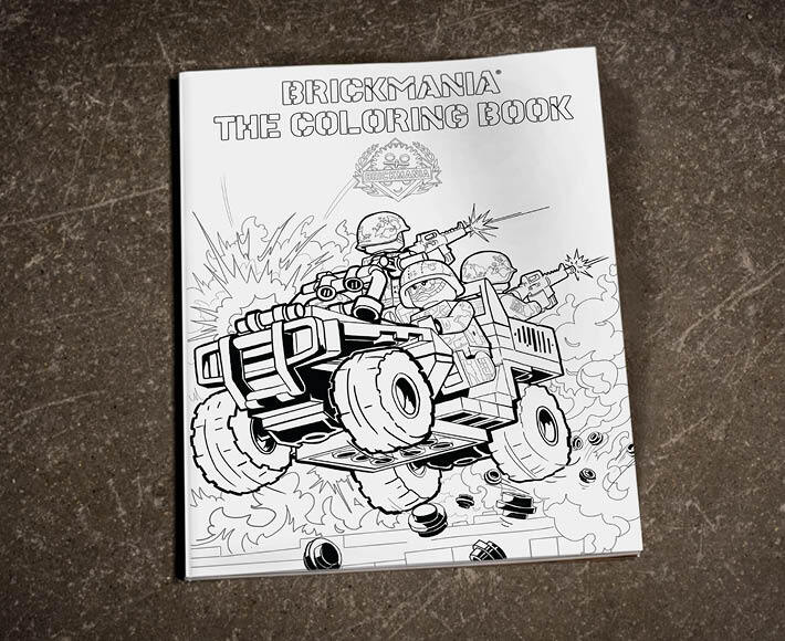 Brickmania The Coloring Book