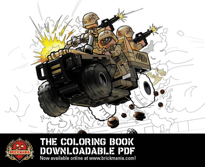 Brickmania The Coloring Book - PDF Download