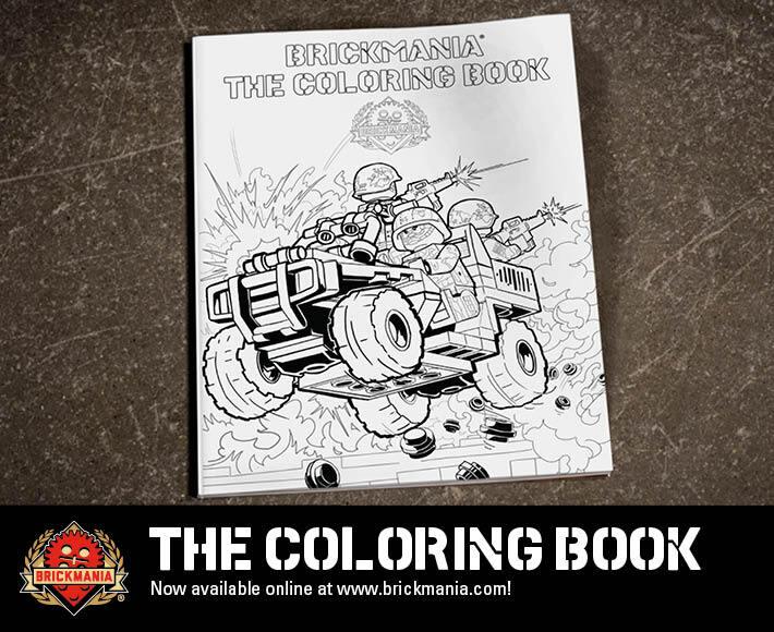 Brickmania The Coloring Book