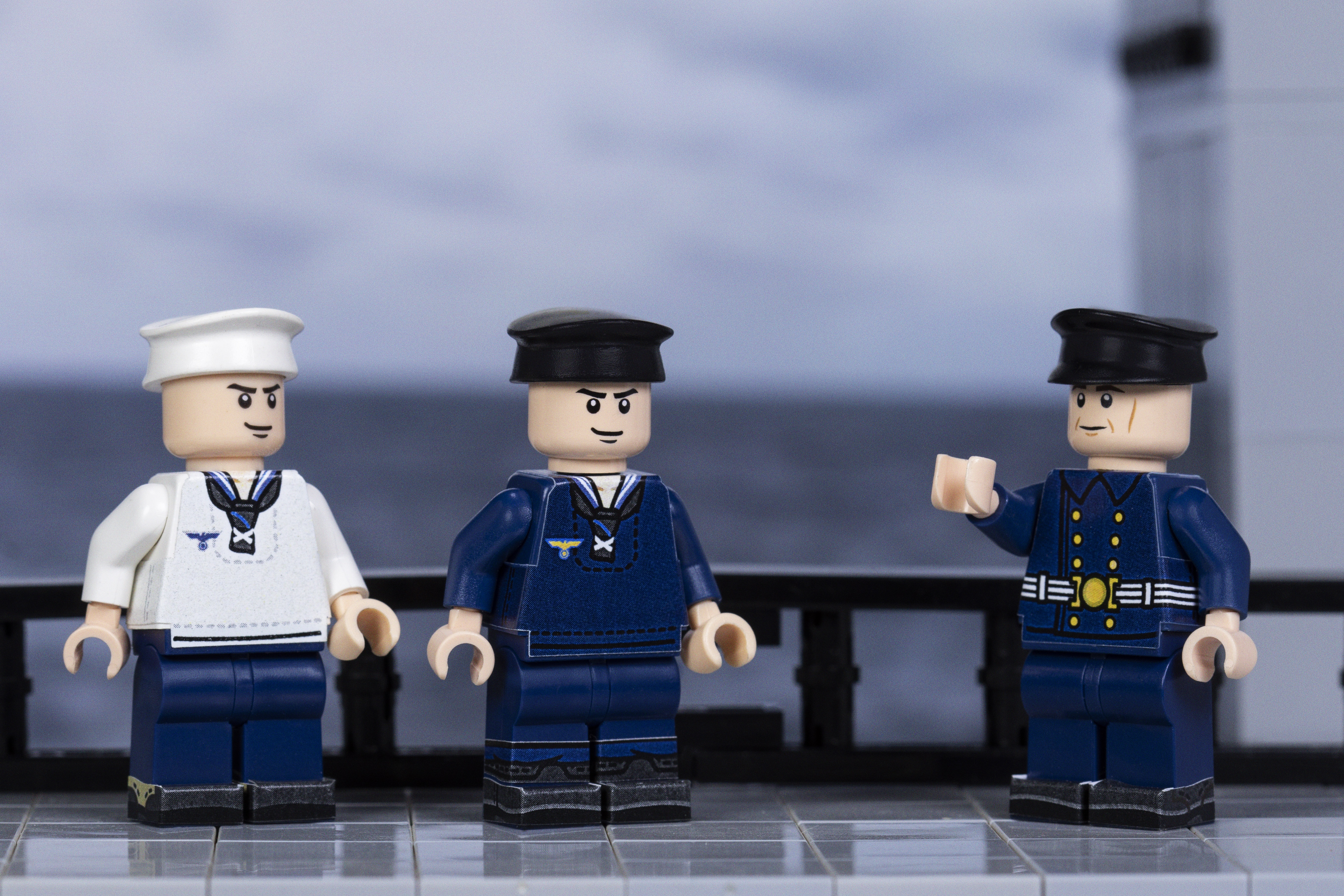 WWII Kriegsmarine Sailors