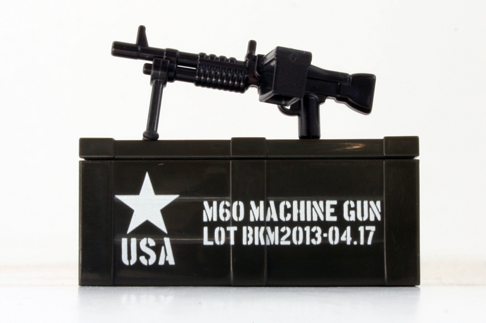 M60 and Printed Crate
