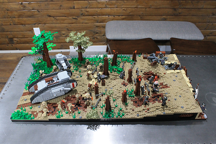 SitRep WWI Moc Contest Example