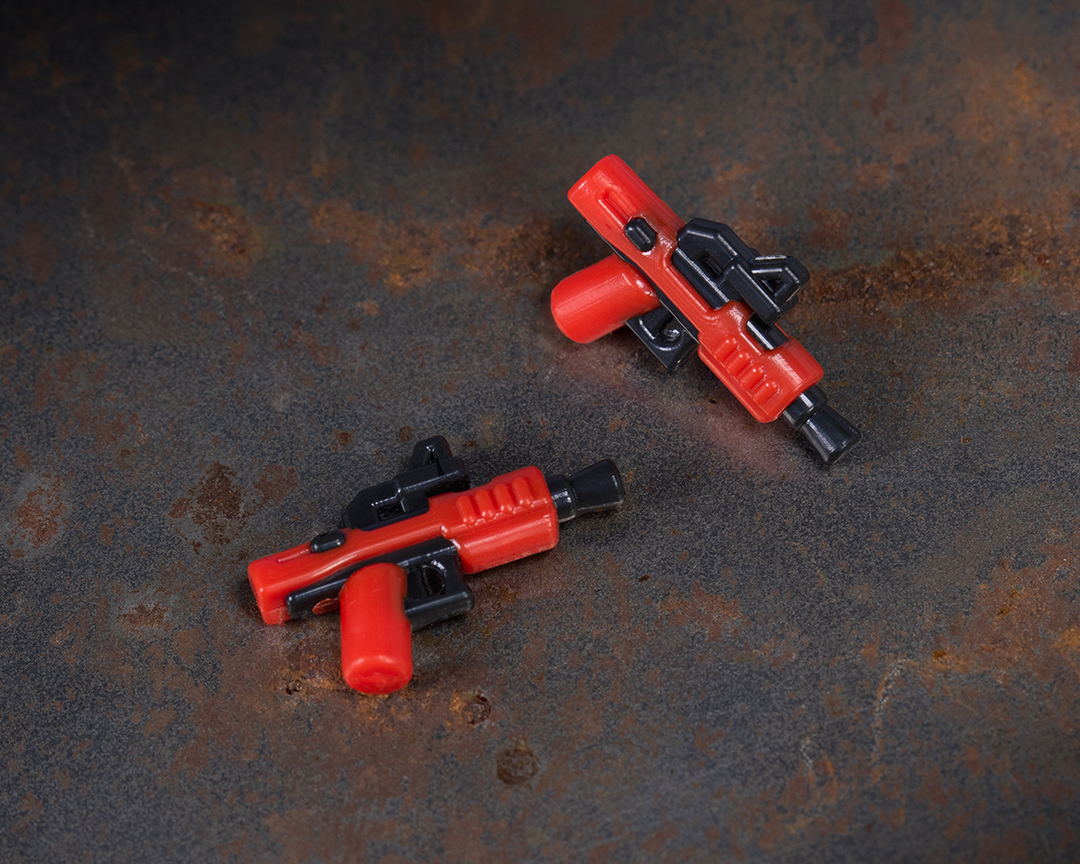 BrickArms Trooper Gear - Dark Blaster Pistol Pair