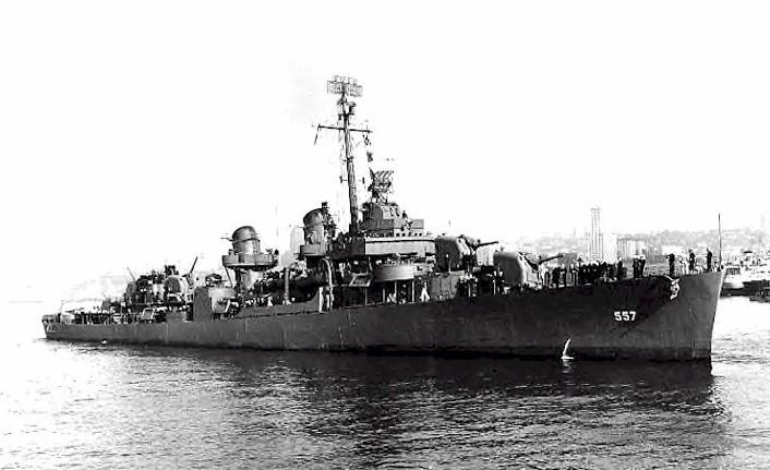 USS Johnston DD-557 -1/96 Scale US Navy Destroyer