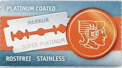 Merkur Super Platinum Razor Blades, 10 pack