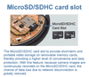 Micro SD/SDHC /SDXC card slot