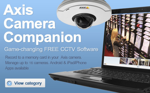 AXIS Camera Companion Management Software