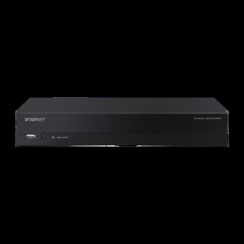Hanwha XRN-420S 4K NVR (Intel based), 4CH with 4 PoE/PoE+ ports (PoE Budget 50W)