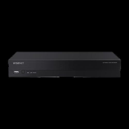 Hanwha XRN-420S-2TB 4K NVR (Intel based), 4CH with 4 PoE/PoE+ ports (PoE Budget 50W)