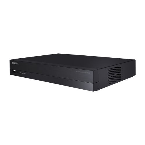 Hanwha QRN-430S 4K NVR (Intel based), 4CH with 4 PoE/PoE+ ports (PoE Budget 35W)