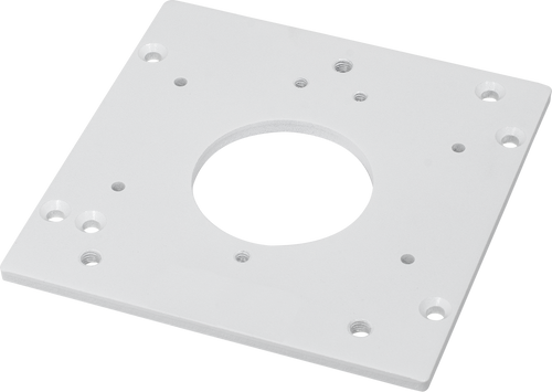 "Vivotek AM-523 Adapting Plate for 4"" Square Electrical Box"