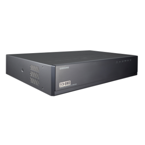 XRN-410S 4K UHD Resolution Samsung 8CH NVR with PoE Switch XRN-810S HANWHA TECHWIN H.265//H.264//MJPEG Streaming