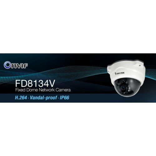 New Driver: VIVOTEK FD8134V Network Camera