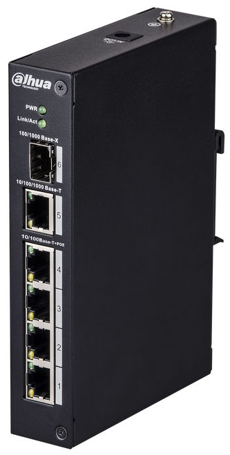 Dahua DH-PFL2106-4ET-96 4-port ePoE Layer 2 Switch