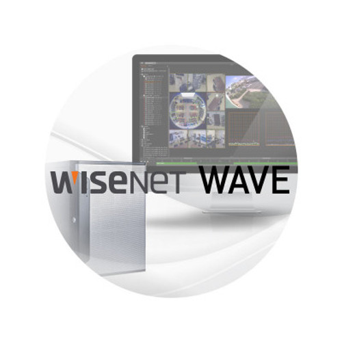 Hanwha WAVE-EMB-08 8CH Recorder Licenses for WRT & WRR Servers