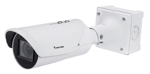 Vivotek IB9387-LPR 5MP Remote Focus Bullet Network Camera (VTK-IB9387-LPR)