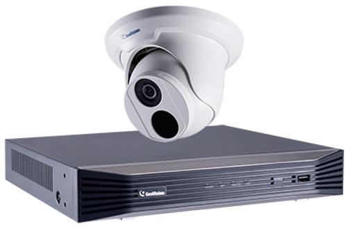 GeoVision GV-EBD4700-SNVR0812 4MP Eyeball Dome NVR Bundle