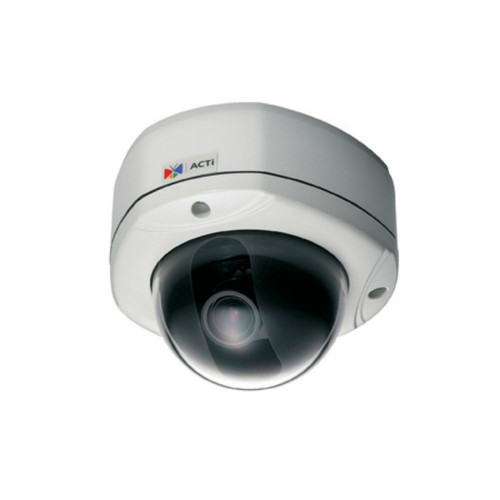 ACTi ACM-7411 1.3MP Varifocal Day/Night Vandal Outdoor Dome IP Network Camera