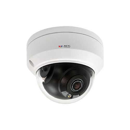 ACTi Z710 8MP Outdoor Mini Dome with D/N, Adaptive IR, Superior WDR, SLLS, Fixed Lens (ACT-Z710) Your image was added to the product.