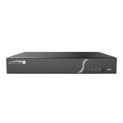 Speco Technologies N16NRE8TB 16 Channel Facial Recognition Recorder with Smart Analytics- 8TB (N16NRE8TB)
