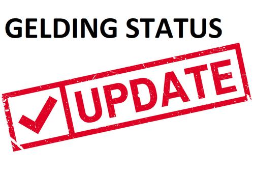 Update Gelding Status