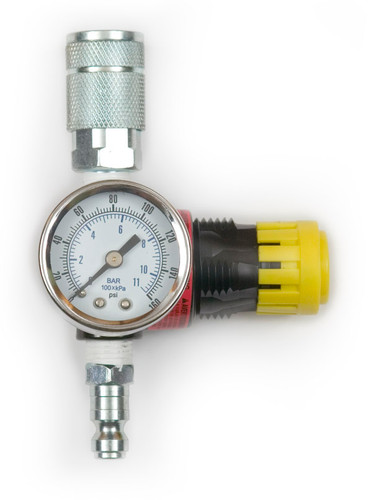 Pressure Regulator for compressor. To use with Man Saver Post Driver products